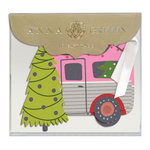 Anna Griffin - Tags - Camper with Glitter Accents