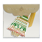 Anna Griffin - Christmas - Tags - Ornate Tree with Foil Accents