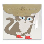 Anna Griffin - Tags - Cats with Glitter Accents