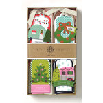 Anna Griffin - Tags - Camper 3D Gift Tags with Glitter Accents