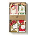 Anna Griffin - Christmas - Tags - Traditional 3D Gift Tags with Foil Accents