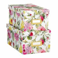 Anna Griffin - Grace White Collection - Nesting Boxes - Set of Two