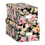 Anna Griffin - Grace Black Collection - Nesting Boxes - Set of Two