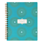 Anna Griffin - Weekly Agenda - Turquoise Foil - Undated