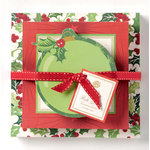 Anna Griffin - Twinkle Bright Collection - Christmas - Note Pad Set