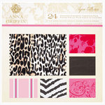 Anna Griffin - Peyton Collection - 12 x 12 Flocked and Die Cut Cardstock Pack