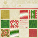 Anna Griffin - Holiday Traditions Collection - Christmas - 12 x 12 Cardstock Pack, CLEARANCE