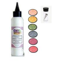 Art Institute Glitter - Art Glitter - Basic Kit with Glitter Glue and Six Colors - Spring Fling, CLEARANCE