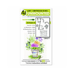 Art Impressions - Watercolor Collection - Unmounted Rubber Stamp Set - EZ Project A