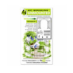 Art Impressions - Watercolor Collection - Unmounted Rubber Stamp Set - EZ Project C