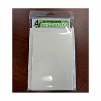 Art Impressions - Tryfolds Collection - Cardstock and Envelopes - White - 8 Pack