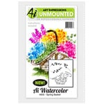 Art Impressions - Watercolor Minis Collection - Unmounted Rubber Stamp Set - Spring Basket