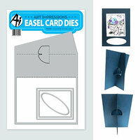 Art Impressions - Easel Card Dies - Square