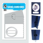 Art Impressions - Easel Card Dies - Scallop