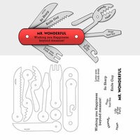 Art Impressions - Stamp Dies - Utility - His