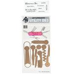 Art Impressions - Stamp Dies - Utility - Hers