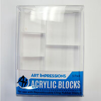 Art Impressions - Acrylic Block - 5 Pack
