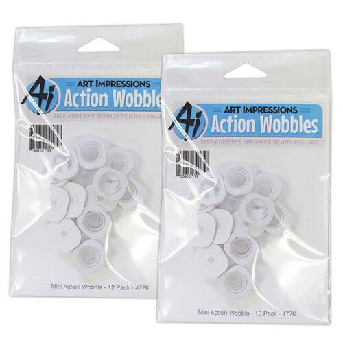 Art Impressions - Mini Action Wobble - 24 Pack