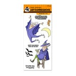 Art Impressions - Halloween Collection - Unmounted Rubber Stamp Set - Old Bat