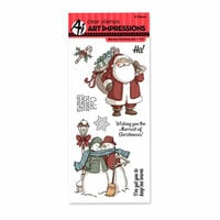 Art Impressions - Christmas Collection - Clear Photopolymer Stamp Set - Merriest Christmas
