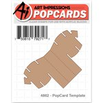 Art Impressions - PopCards Collection - Die - PopCard Template