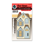 Art Impressions - Holiday Mansion Collection -Clear Stamp Set - Holiday Mansion