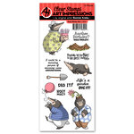 Art Impressions - Funny Farm Collection - Clear Stamp Set - Holy Moley