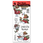 Art Impressions - Christmas Collection - Clear Stamp Set - Sparkle and Cheer