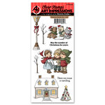 Art Impressions - Christmas Collection - Clear Stamp Set - Christmas Wonder