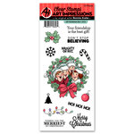 Art Impressions - Christmas Collection - Clear Stamp Set - Christmas