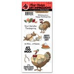 Art Impressions - Thanksgiving Collection - Clear Photopolymer Stamp Set - Full of Thanks