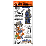 Art Impressions - Halloween Collection - Clear Stamp Set - Happy Haunting