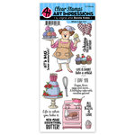 Art Impressions - Work and Play Collection - Clear Photopolymer Stamp Set - Whisk It