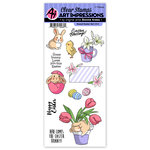 Art Impressions - Easter Collection - Clear Photopolymer Stamp Set - Sweet Easter
