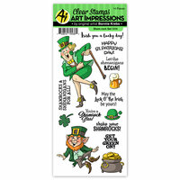 Art Impressions - St Patricks Collection - Clear Photopolymer Stamp Set - Sham-rock