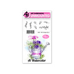 Art Impressions - Watercolor Collection - Unmounted Rubber Stamp Set - Foliage 3