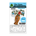 Art Impressions - Twist Ties Collection - Stamp and Die Set - Tree