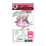 Art Impressions - Twist Ties Collection - Stamp and Die Set - Oldies