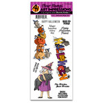 Art Impressions - Halloween Collection - Clear Photopolymer Stamp Set - Halloween Magic