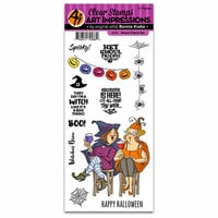 Art Impressions - Halloween Collection - Clear Photopolymer Stamp Set - Ghoul Friend