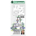 Art Impressions - Bible Journaling Collection - Unmounted Rubber Stamp Set - Light to my Path