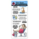 Art Impressions - Clear Photopolymer Stamp Set - Housework