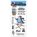 Art Impressions - Clear Photopolymer Stamp Set - Loads of Fun