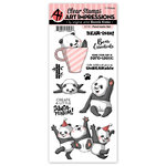 Art Impressions - Clear Photopolymer Stamp Set - Pand-tastic