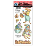 Art Impressions - Clear Photopolymer Stamp Set - Basket of Blessings