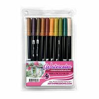 Art Impressions - Watercolor Collection - Dual Brush Pen Set - Bonnie's Favorites 2