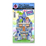 Art Impressions - Cubbies Collection - Stamp and Die Set - Castle