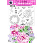 Art Impressions - Clear Photopolymer Stamp Set - Roses