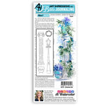 Art Impressions - Bible Journaling Collection - Clear Photopolymer Stamps - Columns