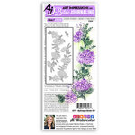 Art Impressions - Bible Journaling Collection - Clear Photopolymer Stamps - Hydrangea Border